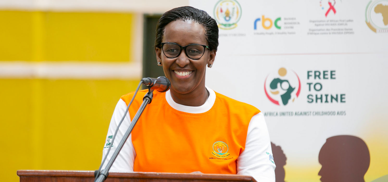 Launch of the ''Free to Shine – Umwana Wanjye, Ishema Ryanjye'' Campaign, September 2018